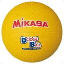 【MIKASA】ミカサ D2-Y 教育用ドッジボール2号 [イエロー][ハンドボール/ドッヂボール][ボール]年度:14【RCP】