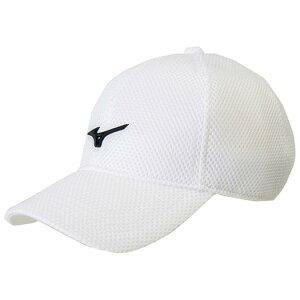 ◆MIZUNO◆ミズノ 32JW8100-01メッシュキャップ(ダンボール)[ホワイト×ブラック]マルチスポーツキャップ/帽子/ぼうし【RCP】