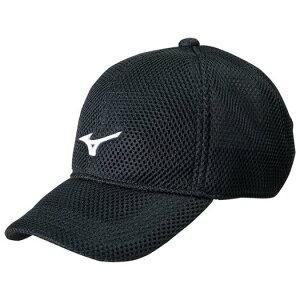 ◆MIZUNO◆ミズノ 32JW8100-91メッシュキャップ(ダンボール)[ブラック×ホワイト]マルチスポーツキャップ/帽子/ぼうし【RCP】