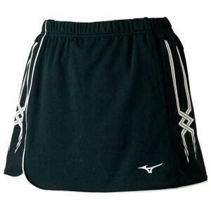 ◆MIZUNO◆ミズノ62JB7203-09スカート(インナー・ポケット付き)[ブラック]ラケットスポーツ/スコート/ウエア/ウェア/レディース/テニス/バドミントン【RCP】