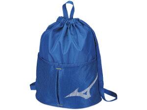 ◆MIZUNO◆ミズノ N3JD8002-27 プールバッグ[ブルー]水泳/スイミング/スイム/ジュニア/バッグ/バック/リュック/プールバッグ/スイムバッグ【RCP】