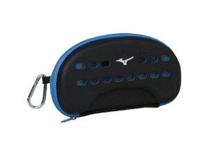 ◆MIZUNO◆ミズノ N3JM8501-27 ゴーグルケースL[ブラック×ブルー]水泳/スイミング/スイム/ゴーグルケース/ケース【RCP】