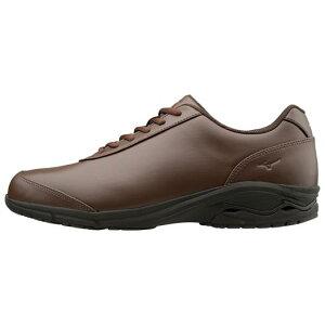 ■送料無料■◆MIZUNO◆ミズノ B1GC1722-58 LD-EX 02[ブラウン] 快適な歩きをもっと身近にする、人工皮革モデルがリニューアル。 【ウォーキングシューズ/ビジネス】カジュアルシューズ/靴/散歩/