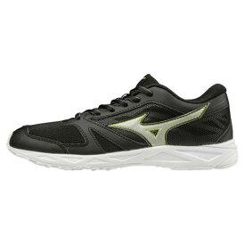 ◆MIZUNO◆ミズノK1GC2041-08 SPEED STUDS WT (スピードスタッズ WT)[ジュニア][ブラック×シルバー]走り始めのジュニアのエントリーモデル、スピードスタッズの白底モデルがデビュー!シューズ/靴/短距離走/長距離走/マラソン【RCP】