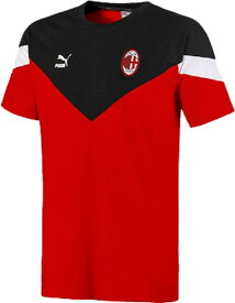 【PUMA】プーマ 756655-02 ACM ICONIC MCS Tシャツ[TANGO RED][半袖シャツ/半袖ウエア/プラクティス/練習着/着替え/マルチスポーツ/カジュアル/サッカー/部活動/クラブ活動]【RCP】