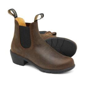 ■送料無料■【BLUNDSTONE】ブランドストーン BS1673251 #1673[アンティークブラウン][アウトドア・ウォーキング/カジュアル/シューズ/靴/くつ/サイドゴア/レザーブーツ/ショートブーツ/レディース]【RCP】