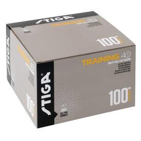 【STIGA】 スティガ 1110-2710-10 トレーニングボール 40+ [100個入り]【卓球用品】プラスチックボール トレ球/プラスティックボール【RCP】