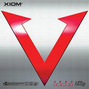 【XIOM】エクシオンヴェガアジア95081新次元のスピードを誇るスピン・ウェポンベガアジア(VEGAAsia)【卓球用品】裏ソフトラバー