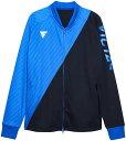 【TSP】VICTAS/ヴィクタス 033161-0120 ジャージ ジャケット V-NJJ905[ブルー]【卓球用品】トレーニングシャツ/卓球シ…