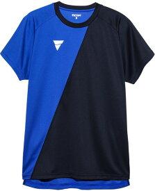 【TSP】VICTAS/ヴィクタス 033456-0120 プラクティスシャツ V-TS908[ブルー]【卓球用品】トレーニングシャツ/卓球Tシャツ/卓球/Tシャツ【RCP】