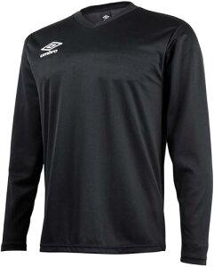 【UMBRO】アンブロ UBS7637L-BLK セカンダリーL/Sシャツ [ブラック] サッカーゲームシャツ/サッカー長袖/男女兼用 【RCP】