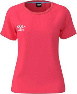 【UMBRO】アンブロ UMWNJA65-CPNK ワンポイント S/Sシャツ [Cピンク] サッカーゲームシャツ/サッカー半袖/男女兼用 【RCP】