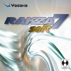 ■メール便送料無料■【Yasaka】ヤサカラクザ7ソフトB-77軟らかく、軽く、使いやすくなった【卓球用品】裏ソフトラバー