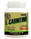 カルニチン サプリメント 脂肪 を燃やす F2210 ゴールドジム GOLD'S GYM 180粒