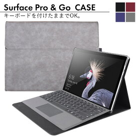 surface ケース カバー go go2 pro4 pro5 pro6 pro7 proX 両面保護 PUレザー おしゃれ アクセサリー タッチペンホルダー サーフェスプロ サーフェス surface pro lte advanced LTE プロ7 laptop プロX