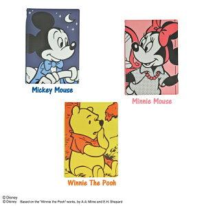 【メール便配送可能】ディズニー(DISNEY) パスポートカバー コミック柄(ミッキーマウス/ミニーマウス/くまのプーさん)【Disneyzone】(パスポートケース かわいい 旅行 便利グッズ ディズニー