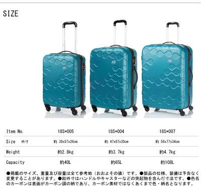 【送料無料】サムソナイト/samsoniteカメレオンハラナ18S*00440Lジッパーハードキャリースーツケース(旅行キャリーケースかわいいおしゃれキャリートラベルブランド)