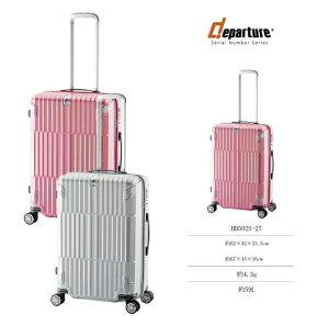 【SALE】 ALI ディパーチャー HD-502S-27 アジアラゲージ 59L キャリー スーツケース ( ストッパー付 かわいい おしゃれ キャリーケース キャリーバッグ ケース バッグ スーツ サイズ キャリーバッ