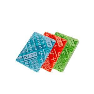 パスポートを守る鮮やかなクリアカラーケース【GRATORI AIRLINES 2/グラトリエアラインズ2】 パスポートカバー パスポートケース( かわいい 便利グッズ おしゃれ 防犯グッズ トラベルグッズ ケ