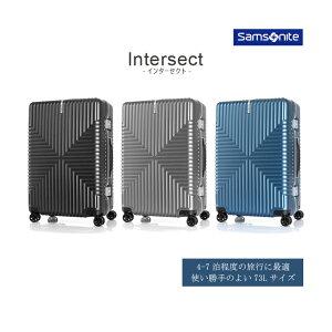 SALE【送料無料】サムソナイト(Samsonite) インターセクト(Intersect) フレームスーツケース 73L GV5*002 TSAロック アルミフレーム ( おしゃれ バッグ キャリーケース ビジネス キャリー スーツ ケース