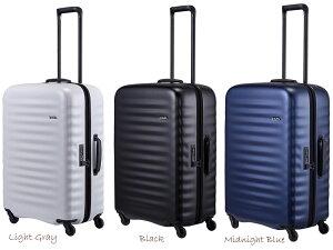 【スーツケースベルトプレゼント】【送料無料】ロジェール(LOJEL) ALTO-M ジッパーキャリー 75L TSAロック スーツケース 超軽量 ハード 1週間程度の旅に ( かわいい 旅行 おしゃれ キャリーケース