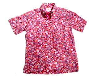 木條穿 (battenware) 運動套衫襯衫/粉色雛菊