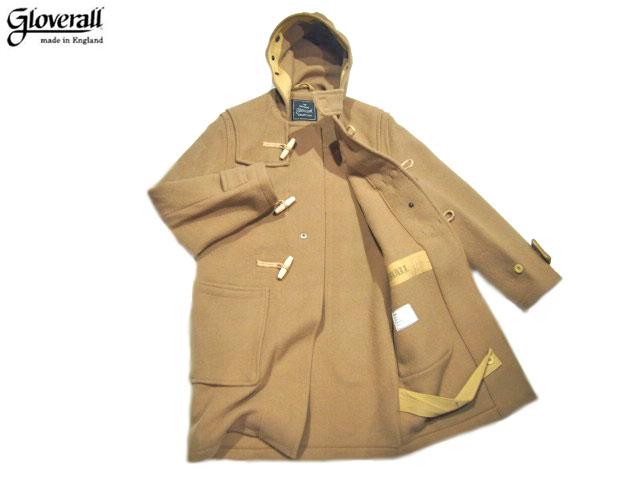 【期間限定30%OFF!】GLOVERALL(グローバーオール)/#585-52 MONTY DUFFLE COAT/camel