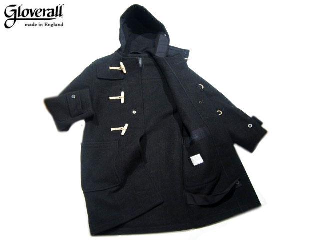 【期間限定30%OFF!】GLOVERALL(グローバーオール)/#585-52 MONTY DUFFLE COAT/black