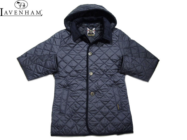 【期間限定20%OFF!】LAVENHAM(ラベンハム)/MEN'S DENSTON(デンストン)QUILTING JACKET(LAVENSTER)/suffolk navy×spring navy