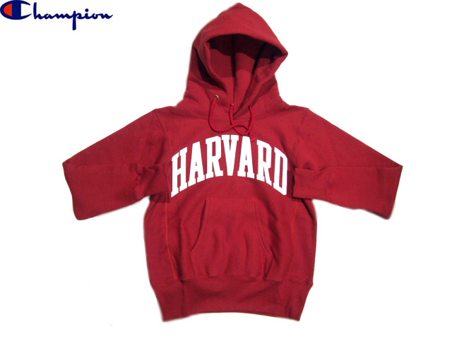 "CHAMPION(チャンピオン)/CLASSIC COLLAGE REVERSE WEAVE PULLOVER HOODIE ""HARVARD""/made in U.S.A./maroon"