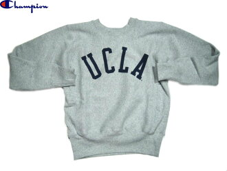 "CHAMPION (champion) /#C5-L003 REVERSE WEAVE CREWNECK SWEAT ""UCLA""/made in U.S.A./ox grey"