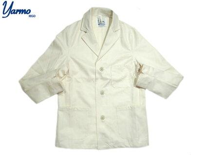 Yarmo Drivers Jacket YAR-18SS 01: Ivory