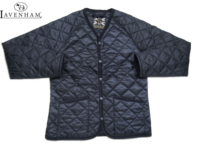 【期間限定20%OFF!】LAVENHAM(ラベンハム)/MEN'S BARHAM(バーハム)QUILTING JACKET/NIGHT NAVY