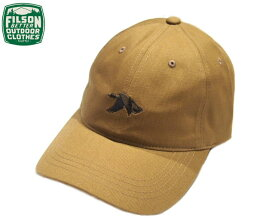 FILSON (フィルソン)#29478 TWILL LOW PROFILE CAP(ツイル・プロファイル・キャップ)/antique gold