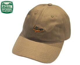 FILSON (フィルソン)#29478 TWILL LOW PROFILE CAP(ツイル・ロウ・プロファイル・キャップ)/earth