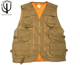 CORONA(コロナ)/#CV001-19-02 IAS(IN ALL SITUATION) UTILITY VEST(ユーティリティーベスト)/coyote brown