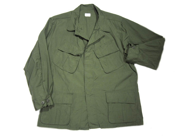 U.S. MILITARY/4TH MODEL JUNGLE FATIGUE JACKET COTTON RIPSTOP(米軍ジャングルファティーグジャケット)/olive