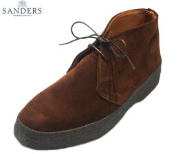 SANDERS(サンダース)/#9877 SUEDE BRIT CHUKKA (ブリットチャッカ)/polo snuff suede