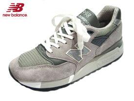 【期間限定20%OFF!】NEW BALANCE(ニューバランス)/#M998 made in U.S.A./grey