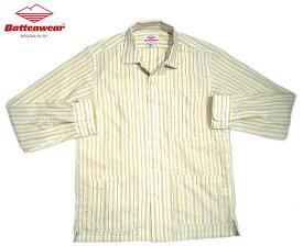 【期間限定50%OFF!】BATTEN WEAR(バテンウェア)/WOVEN DOBBY FIVE POCKET CANYON SHIRTS(キャニオンシャツ)/ivory