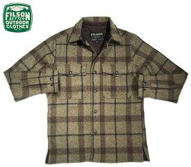 FILSON(フィルソン)/#10788 MACKINAW PLAID JAC SHIRTS(マッキーノ・プラッド・ジャケ・シャツ)/taupe x brown x black