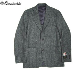 SOUTHWICK(サウスウィック)/CAMBRIDGE HARRIS TWEED JACKET/grey herringbone/madein U.S.A.
