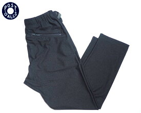 POST OVERALLS(ポストオーバーオールズ)/#3602 E-Z TOP POLY JERSEY PANTS/charcoal heather