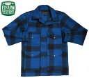FILSON(フィルソン)/#10043 MACKINAW WOOL CRUISER JACKET(マッキーノ・ウール・クルーザージャケット)/cobalt bl…