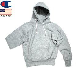 CHAMPION(チャンピオン)/#C5-U101 REVERSE WEAVE P/O HOODED SWEAT SHIRTS/made in U.S.A./ox grey