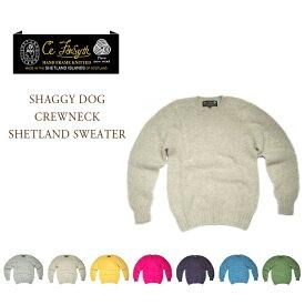 CE FORSYTH(シーイーフォーシス)/SHAGGY DOG CREWNECK SHETLAND SWEATER(シャギードッグシェットランドクルーネックセーター)