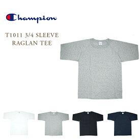 【期間限定30%OFF!】CHAMPION(チャンピオン)/#C5-U401 T1011 3/4 SLEEVE RAGLAN TEE(ラグラン・ティーシャツ)
