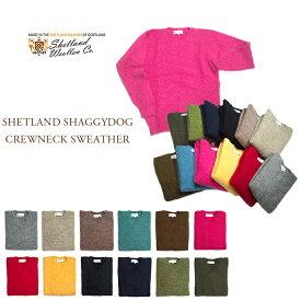 【期間限定30%OFF!】SHETLAND WOOLLEN (シェットラッドウーレン)/SHETLAND SHAGGYDOG CREWNECK SWEATER(シャギードッグ・シェットランドセーター)