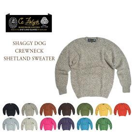 【期間限定50%OFF!】CE FORSYTH(シーイーフォーシス)/SHAGGY DOG CREWNECK SHETLAND SWEATER(シャギードッグ・シェットランドセーター)