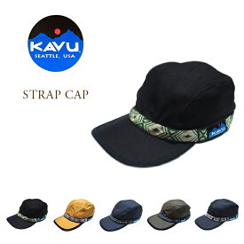 【期間限定20%OFF!】 KAVU(カブー)/STRAP CAP(ストラップキャップ)/made in U.S.A.